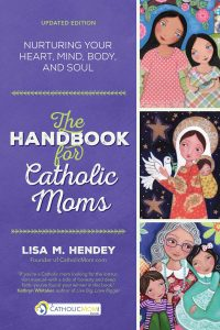 The Handbook for Catholic Moms new book cover
