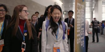 Weekend Beachballs & Jellyfish Entertainment Roundup: God Friended Me, Science Fair, and Smallfoot