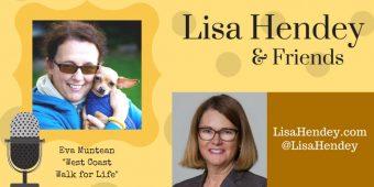 """Eva Muntean """"Walk for Life West Coast"""" – Lisa Hendey & Friends – Episode 39"""
