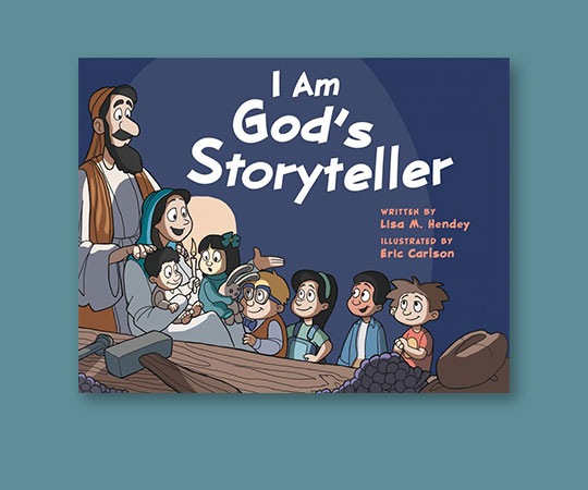 Cover of I Am God's Storyteller by Lisa M. Hendey