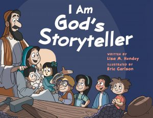 I Am God's Storyteller Book Cover